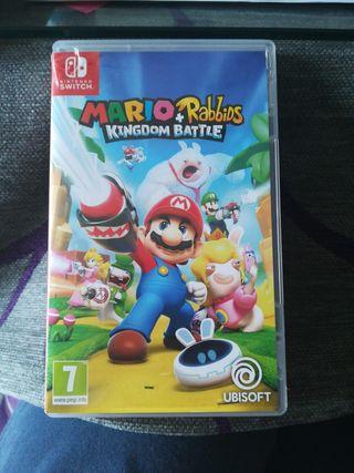 Juego Nintendo switch Mario Rabbids