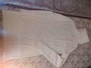 Vestido punto blanco stradivarius