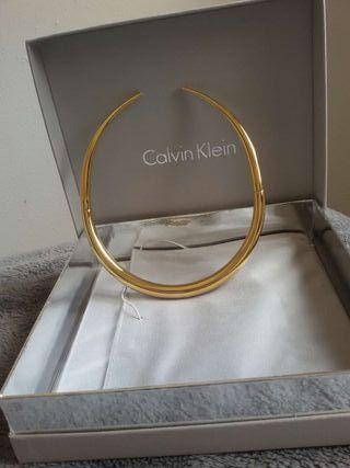 Collar Calvin Klein acero dorado