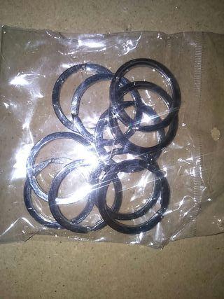 DIY anillas llaveros