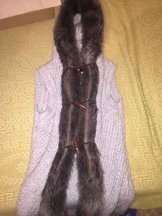Chaleco de pelo