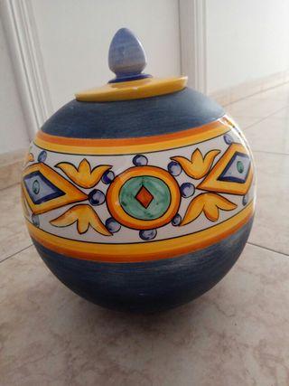 decoracion, vasija cerámica