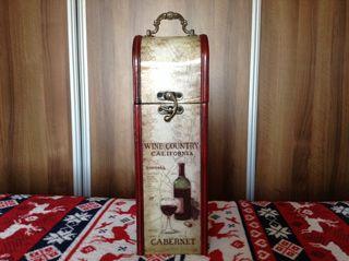 Caja botellero