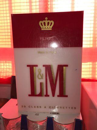 Lámpara colección L&M de 1979