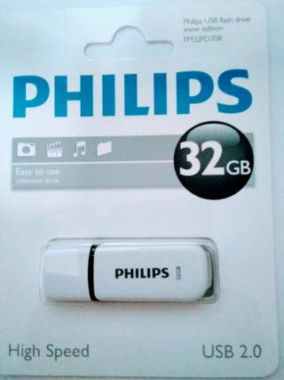 PENDRIVE PHILIPS 32 GB
