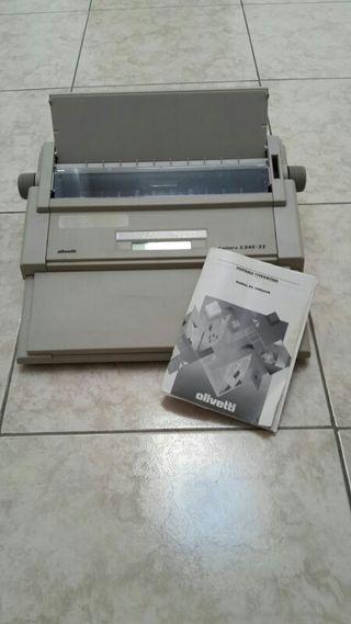 máquina escribir electrónica