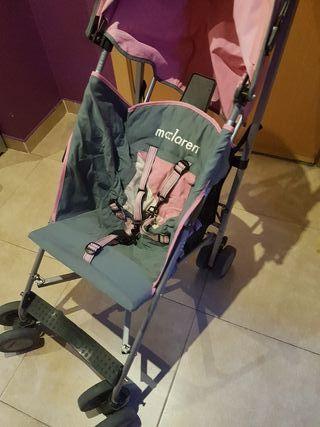 silla maclaren rosa