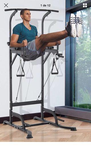 Maquina de musculacion deporte