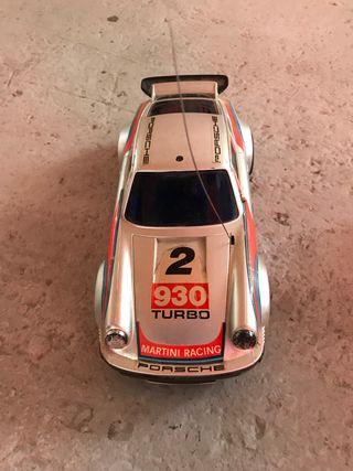 Coche Porsche 911 turbo Martini teledirigido