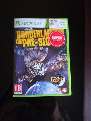 BORDERLAND THE PRE-SEQUEL Xbox 360