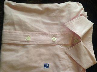 Camisa rosa carolina herrera