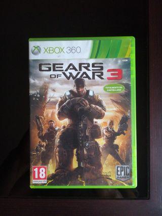 GEARS OF WARS 3 XBOX 360