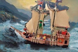 Barco pirata famobil.