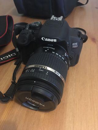 Canon 700D + Tamron 18-270