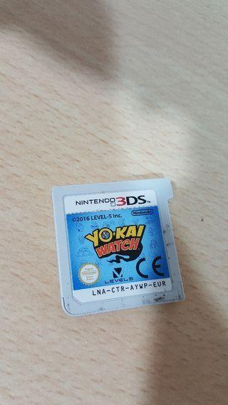 Juego Yokai Nintendo 3ds