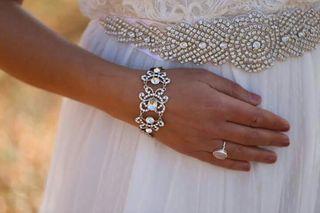 Joya de novia ,pulsera , brazalet ! Nuevo !