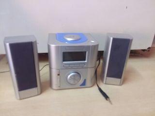 mini cadena de radio