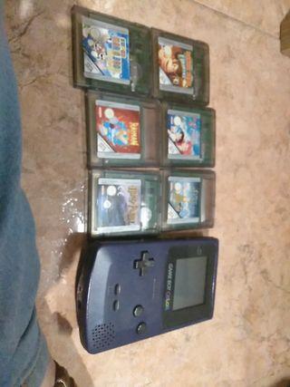Gameboy y juegos