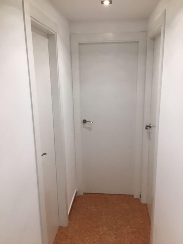 puertas blancas baratas madera de segunda mano por 190