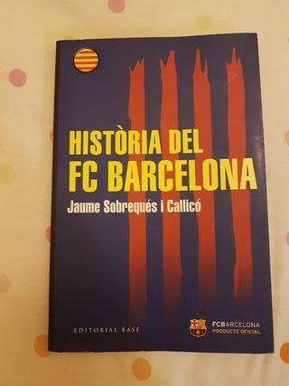 Libro Historia del Fc Barcelona Nuevo