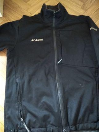 chaqueta columbia titanium talla M