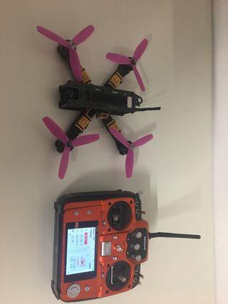 Drone de carreras mas emisora