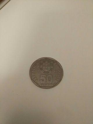 Moneda 50 escudos