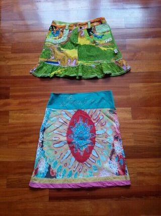 Falda Desigual y falda Savage Culture