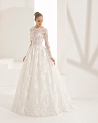 vestido de novia rosa clara de segunda mano en murcia en wallapop
