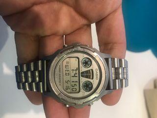 Casio reloj Vintage correa metal