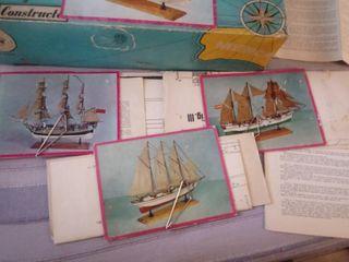 planos barcos constructo maquetas