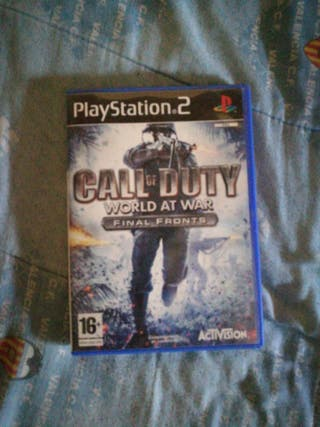 Juego ps2 Call if Duty