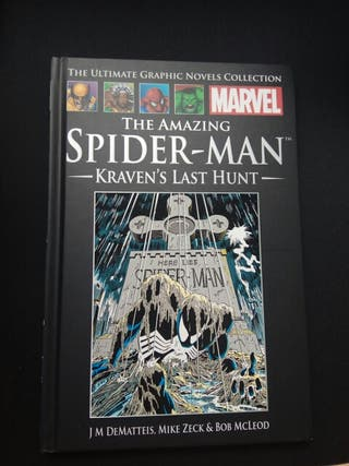 Cómic The Amazing Spider-man Kraven's last hunt