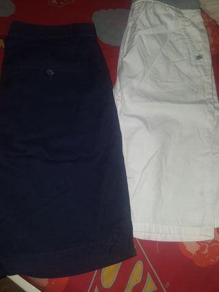 lote de 5 pantalones cortos para niño talla12 a 14