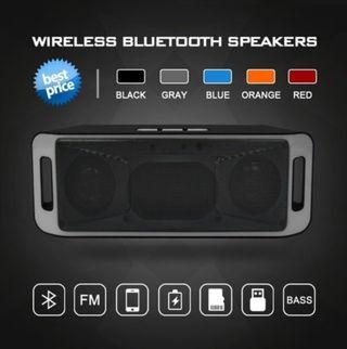 TF USB FM Radio Loud Speaker