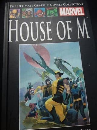 Cómic House of M The ultimate graphic novels