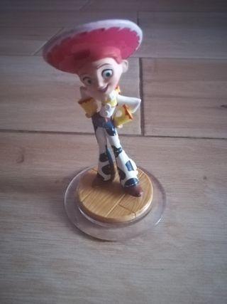 Figura infinity wii: Toy story-jessie + pistola