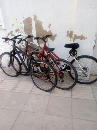 bicicleta usadas precio por unidad