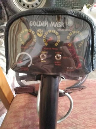 detector de metales golden mask pro finder 4wd