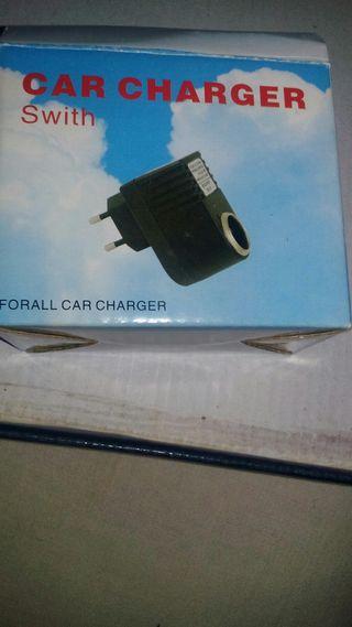 adaptador 220v a 12v mechero de coche