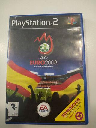 Euro 2008 juego ps2