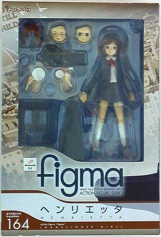Figma 165 Henrietta Gunslinger Girl