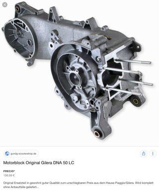 Motor Gilera DNA