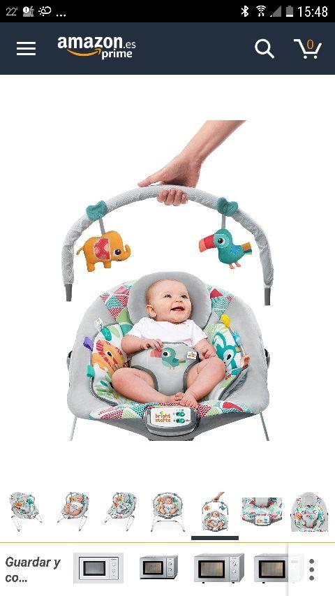 Hamaca para bebé Bright Starts Toucan Tango
