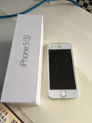 iPhone 5 S. , silver 16gb