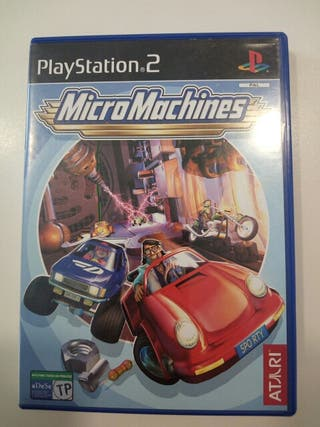Micromachines juego ps2