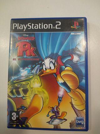 Donald PK el superheroe ps2