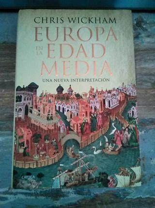 """Libro """"Europa en la Edad Media"""", de Chris Wickham"""
