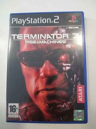 Terminator 3 juego play2