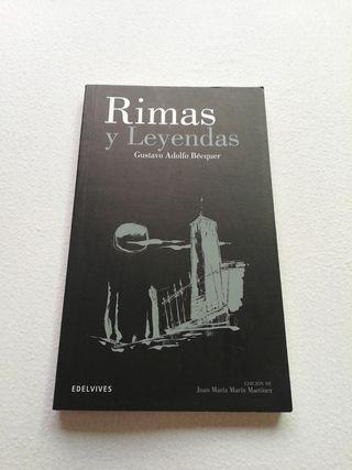 """Libro:""""Rimas y leyendas"""""""